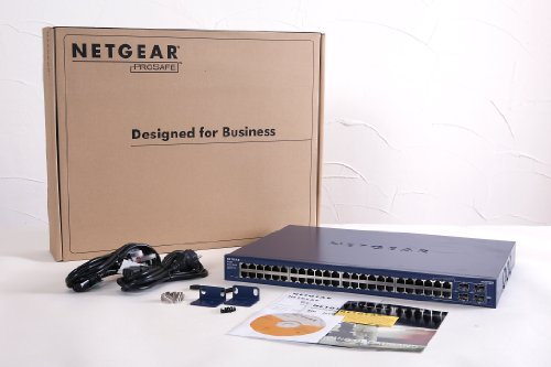 NETGEAR ProSAFE GS748T 48-Port Gigabit Smart Managed Switch (GS748T)