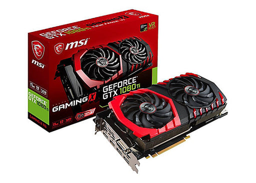 MSI GTX 1080 Ti GAMING X 11G graphics card - GF GTX 1080 Ti - 11 GB