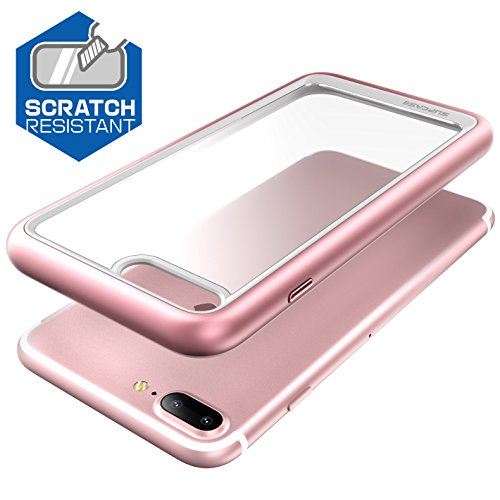 SUPCASE Unicorn Beetle Style Series Premium Hybrid Protective Clear Case for Apple iPhone 8 Plus 2017 - Rose Gold