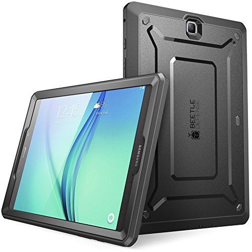Supcase Galaxy Tab A 8.0 Case 2015, [NOT Fit 2017 Tab A 8.0 SM-T380/T385] [UB Pro Series] Full-body Hybrid Protective Case with Screen Protector for Tab A 8.0 SM-T350 (2015) (Black)