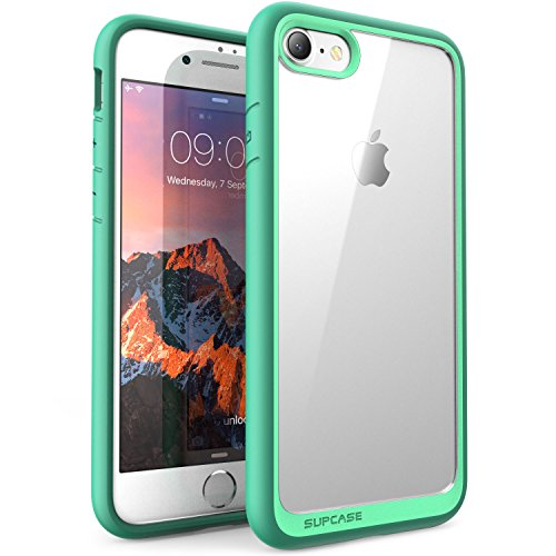 iPhone 8 Case, SUPCASE Unicorn Beetle Style Premium Hybrid Protective Clear Bumper Case [Scratch Resistant] for Apple iPhone 7 2016 / iPhone 8 2017 Release-Green