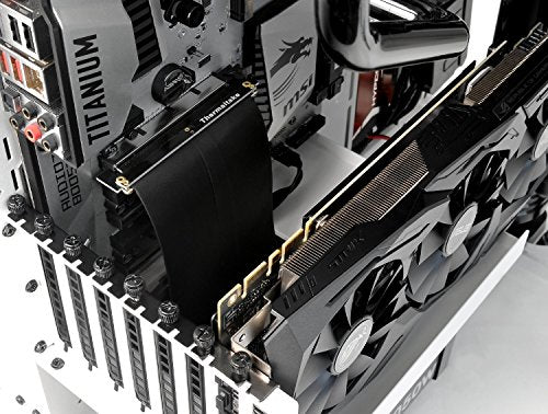 Thermaltake TT Gaming PCI-E x16 3.0 Black Extender Riser Cable 200mm AC-053-CN1OTN-C1