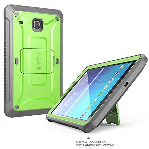 SUPCASE Galaxy Tab E 8.0 Case, Unicorn Beetle PRO Series Full-body Hybrid Protective Case with Screen Protector for Samsung Galaxy Tab E 8.0 Inch SM-T378/ SM-T375 / SM-T377 Tablet (Green)