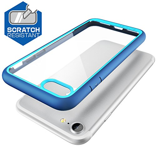 iPhone 8 Case, SUPCASE Unicorn Beetle Style Premium Hybrid Protective Clear Bumper Case [Scratch Resistant] for Apple iPhone 7 2016 / iPhone 8 2017 Release-Navy