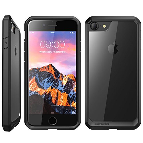 iPhone 8 Case, SUPCASE Unicorn Beetle Series Premium Hybrid Protective Frost Clear Case for Apple iPhone 7 2016 / iPhone 8 2017 (Frost/Black)