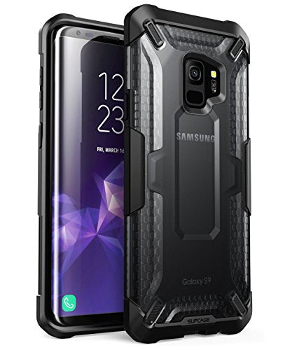 Galaxy S9 Case, SUPCASE Unicorn Beetle Series Premium Hybrid Protective Clear Case for Samsung Galaxy S9 2018 Release, Retail Package (Frost/Black)