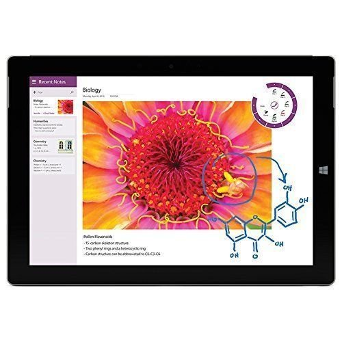 Microsoft Surface 3 Tablet (10.8-Inch, 64 GB, Intel Atom, Windows 10) (Certified Refurbished)