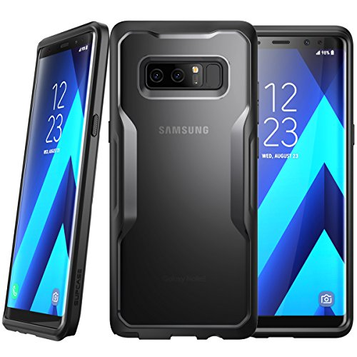 SUPCASE Samsung Galaxy Note 8 Case Unicorn Beetle Series Premium Hybrid Protective Clear Case 2017 Release (Frost/Black)