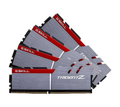 G.SKILL 64GB (4 x 16GB) TridentZ Series DDR4 PC4-26600 3333MHZ For Intel Z170 Platform 288-Pin Desktop Memory Model F4-3333C16Q-64GTZ