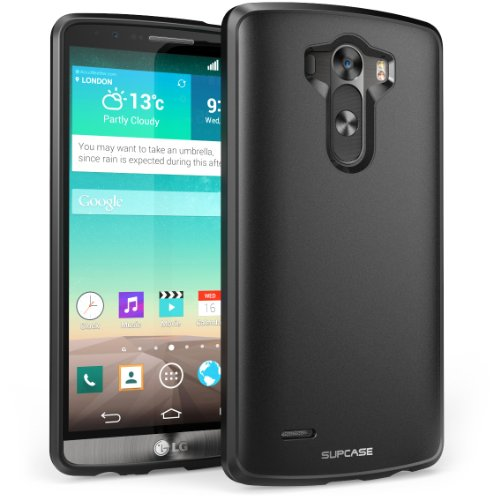 LG G3 Case, SUPCASE Unicorn Beetle Series Premium Hybrid Protective Bumper Case for LG G3, (Black)