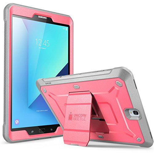 "SUPCASE Galaxy Tab S3 9.7"" Case Unicorn Beetle Pro Series Full-Body Rugged with Built-In Screen Protector, Pink/Gray (SUP-Galaxy-TabS3-9.7-UBPro-Pink/Gray)"
