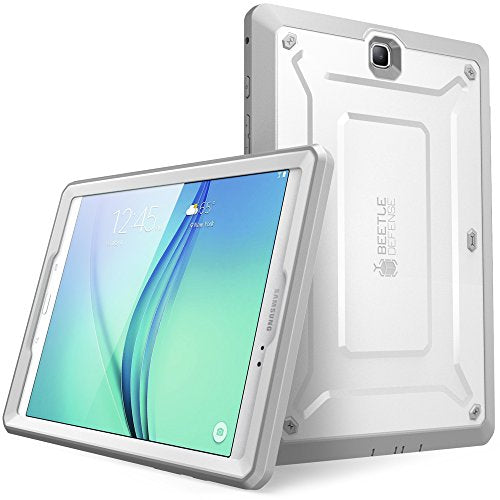 Galaxy Tab A 8.0 Case 2015, [NOT Fit 2017 Tab A 8.0 SM-T380/T385] SUPCASE [UB PRO Series] Full-body Hybrid Protective Case with Screen Protector for Samsung Galaxy Tab A 8.0 SM-T350 (2015) (White)