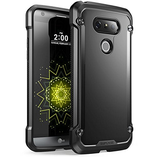 LG G5 Case, SUPCASE Unicorn Beetle Series Premium Hybrid Protective Clear Case for LG G5 2016 Release, Retail Package (Black/Black)