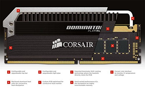 Corsair Dominator Platinum Series 64GB DDR4 DRAM 2666MHz C15 Memory Kit