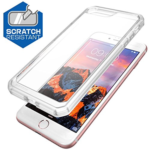 iPhone 8 Plus Case, SUPCASE Unicorn Beetle Series Premium Hybrid Protective Clear Case for Apple iPhone 7 Plus 2016 / iPhone 8 Plus 2017 Release (Frost/Clear)