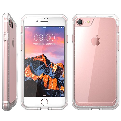 iPhone 7 Case, iPhone 8 Case, SUPCASE Unicorn Beetle Series Premium Hybrid Protective Frost Clear Case for Apple iPhone 7 2016 / iPhone 8 2017 (Clear/Frost)