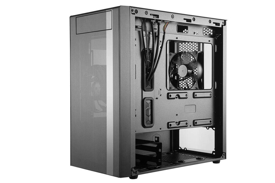 Cooler Master MasterBox NR400 with Mesh Ventilation, Minimal Design, and Tempered Glass Side Panel