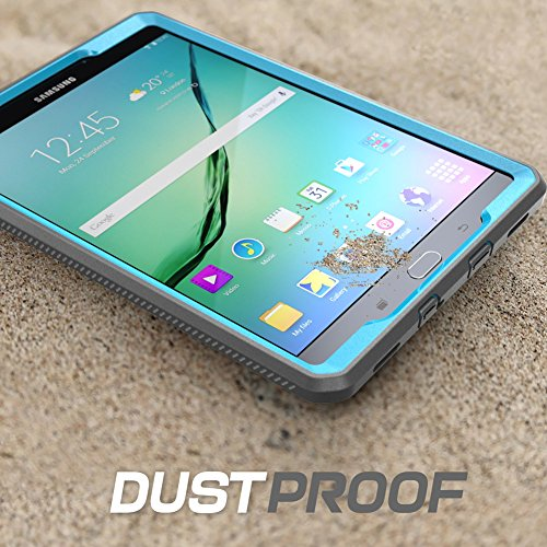 Galaxy Tab S2 9.7 Case, SUPCASE [Heavy Duty] Case for Samsung Galaxy Tab S2 9.7 Tablet [Unicorn Beetle PRO Series] Rugged Hybrid Protective Cover w/ Builtin Screen Protector Bumper (Blue/Black)