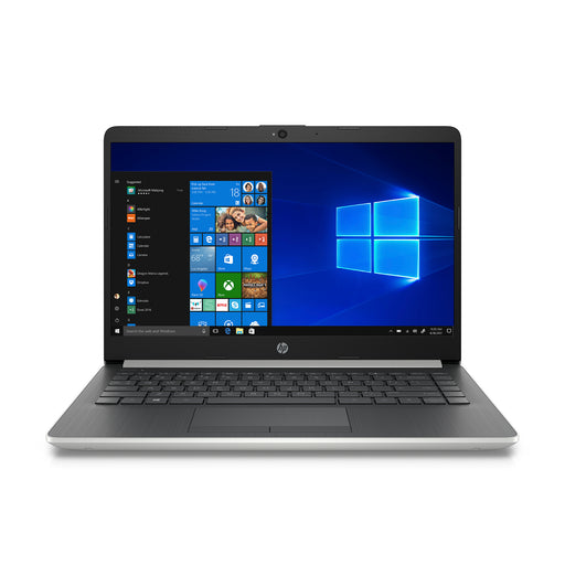 HP 14 Laptop, Intel Celeron N4000, 4GB SDRAM, 64GB eMMC, Office 365 Personal 1-year (A $70 value included for free), Natural Silver