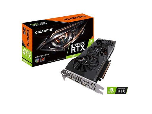 Gigabyte GeForce RTX 2080 Windforce 8G Graphics Card, 3X Windforce Fans, 8GB 256-Bit GDDR6, GV-N2080WF3-8GC Video Card
