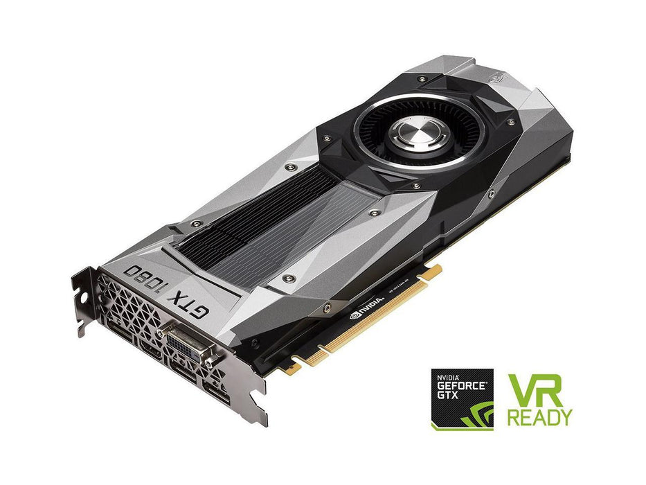 IN STOCK NVIDIA GeForce GTX 1080 Founders Edition, 8GB GDDR5X PCI Express 3.0 Graphics Card