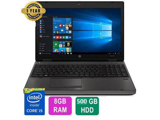 "HP ProBook 6560b Laptop, 15.6"" Scr, Intel Core i5, 8GB RAM, 500GB HDD, Win 10!"