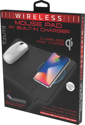 Wireless Charging Mouse and Mousepad