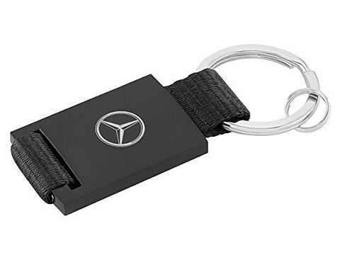 Mercedes-Benz, Keyring, Faux Leather, with Steel