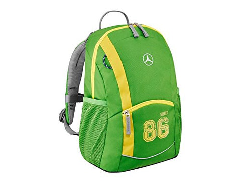 Green kids rucksack from Mercedes-Benz