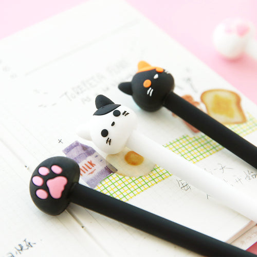 Meow Gel Pen - 2pcs