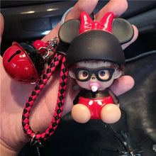 Cute Mouse Bee KeyChain