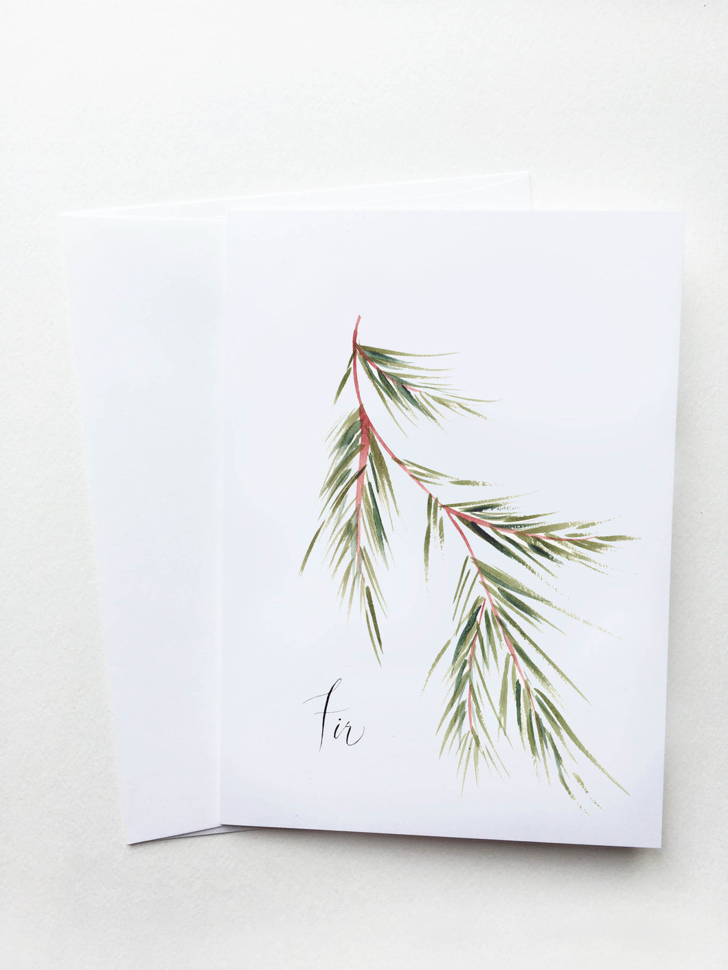 Fir Holiday Card