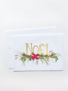 Noël Holiday Card
