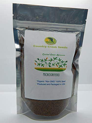 Cress Seed, Microgreen, Sprouting, Organic Seeds, Non GMO - Country Creek - Country Creek LLC