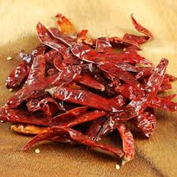 JAPONES PEPPER, WHOLE DRIED, ORGANIC, 8 OZ, DELICIOUS FRESH SPICY DRIED HERB - Country Creek LLC
