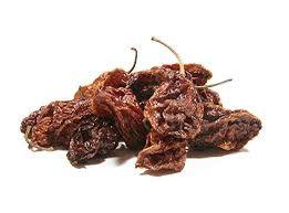 HABENERO  PEPPER, DRIED N WHOLE, ORGANIC, DELICIOUS SPICY DRIED HERB