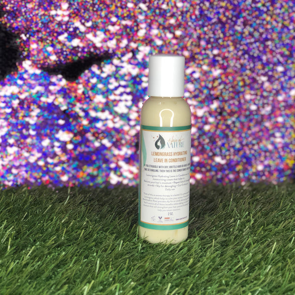 Lemongrass Hydrating Leave in Conditioner 2oz