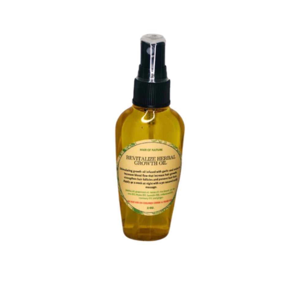 REVITALIZE HERBAL HAIR OIL 2 oz