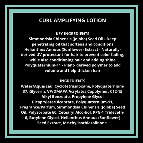 Curl Amplifying Lotion 2oz