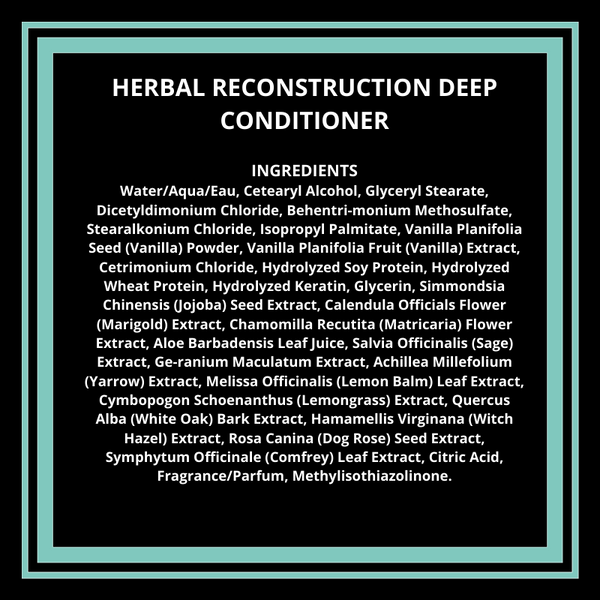 Herbal Reconstruction Deep Conditioner