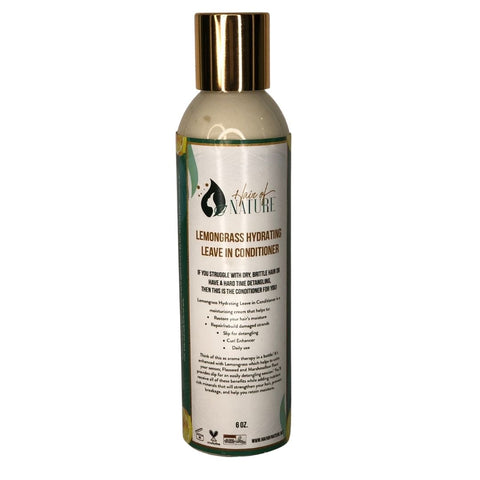 Lemongrass Hydrating Leave in Conditioner
