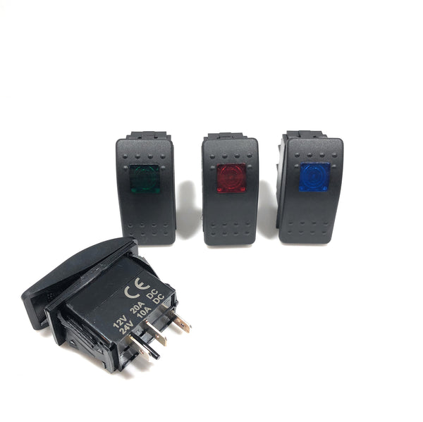 LED Blank Rocker Switch