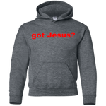 'got Jesus?' Gildan 7.75 oz. 50%/50% cotton/poly Sweatshirt
