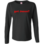 'got Jesus?' LAT 100% combed cotton Jersey T-Shirt