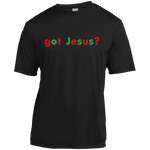 got Jesus? Sport-Tek youth 100% polyester T-Shirt