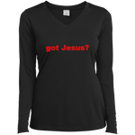 'got Jesus?' Sport-Tek 3.8 oz. 100% cationic poly interlock T-Shirt