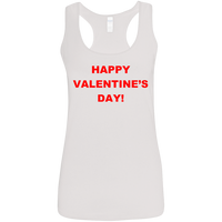 'Happy Valentine's Day', Gildan, 100% presrunk ringspun cotton Tank