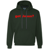 'got Jesus?' Gildan 9 oz. 75%/25% cotton/poly Swetashirt