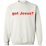 'got Jesus?' Gildan 8 oz. 50/50 cotton/polyester Sweatshirt