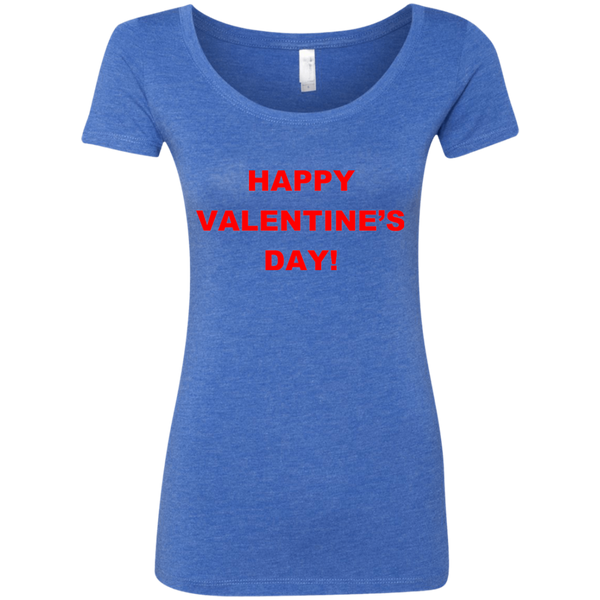 'Valentine's Day', Next Level, Preshunk Tri-blend heather look